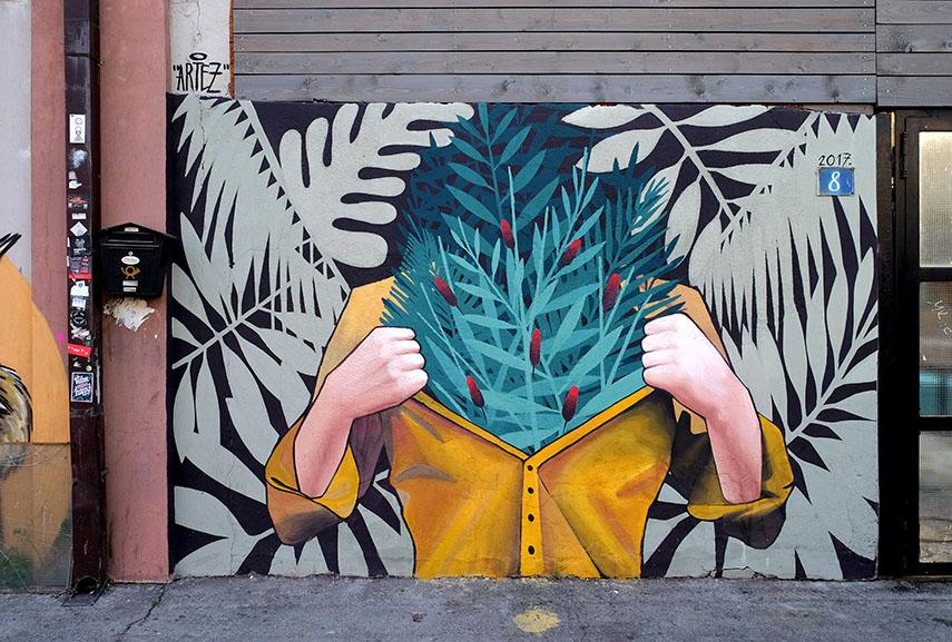 Artez mural Belgrade