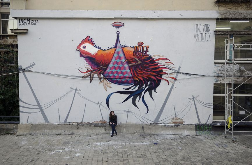 Artez - Find Your Way To Fly - Bucharest, Romania, 2013