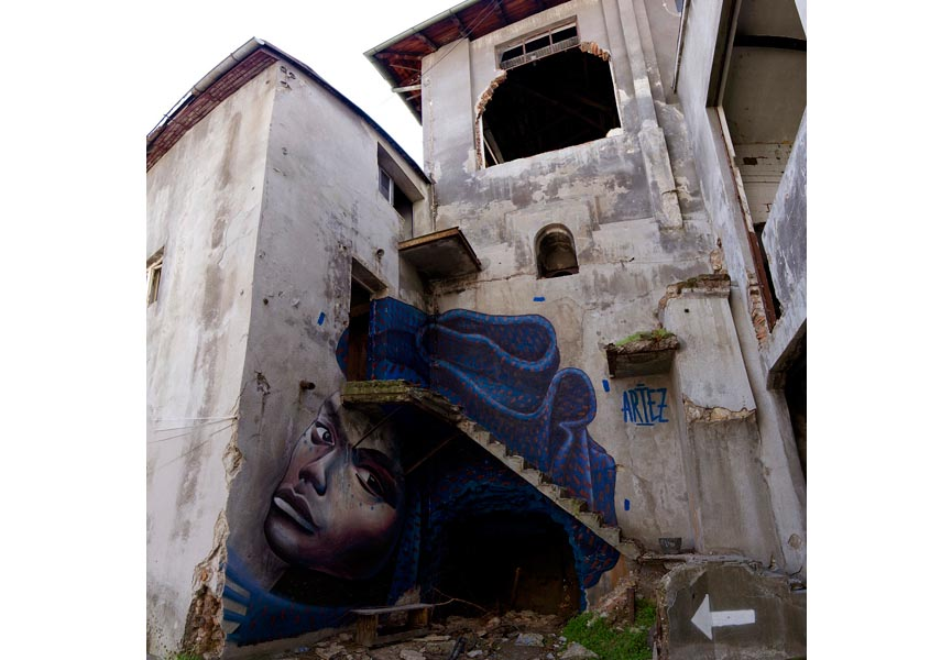 Artez - Hidden Beauty - Belgrade, Serbia, 2014