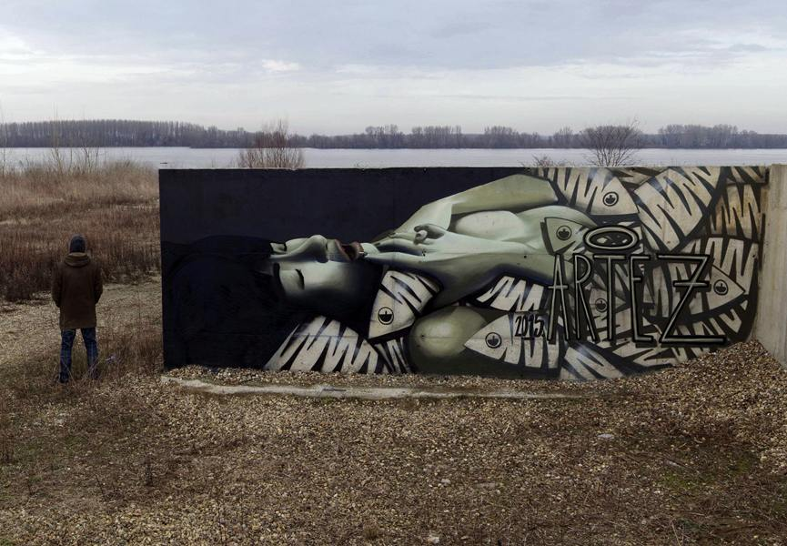 Artez - She Sleeps With Fishes Now - Belgrade, Serbia - 2015