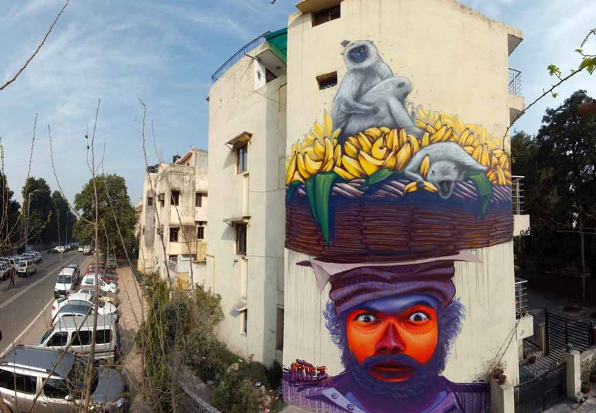 Artez - Strange Hat - New Delhi, India, 2014