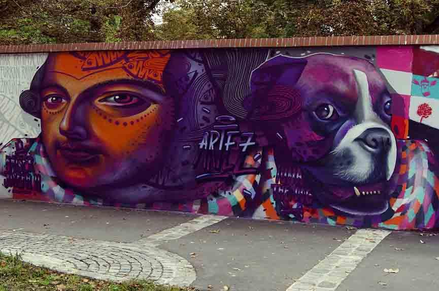 Artez in Vienna, Austria, 2014
