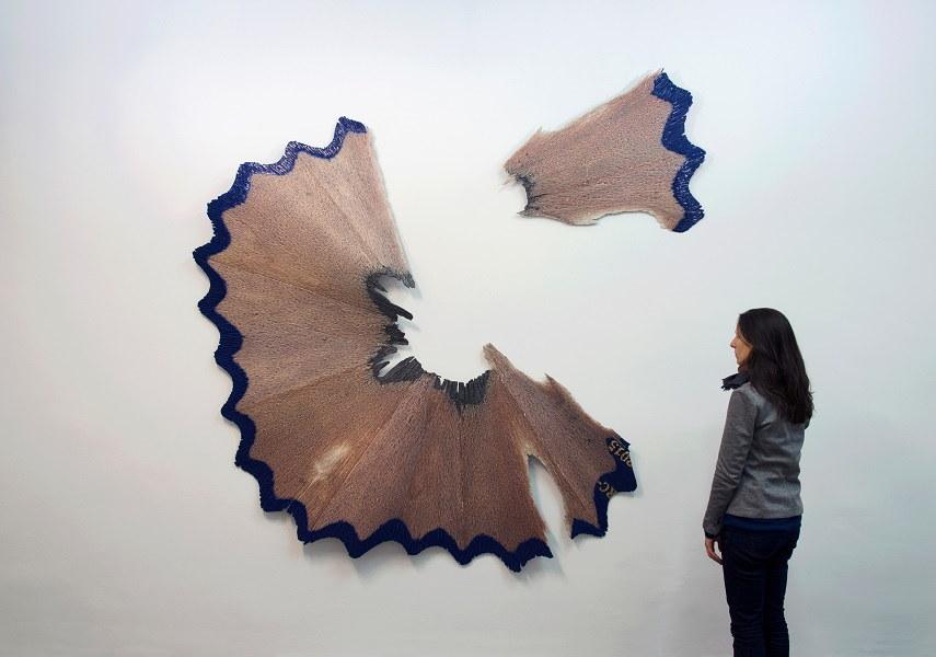 Arthobler_Rómulo Celdrán_MACRO XVI_2015_Aluminium, polyurethane, digital print and resin-223 x 220 x 11 cm