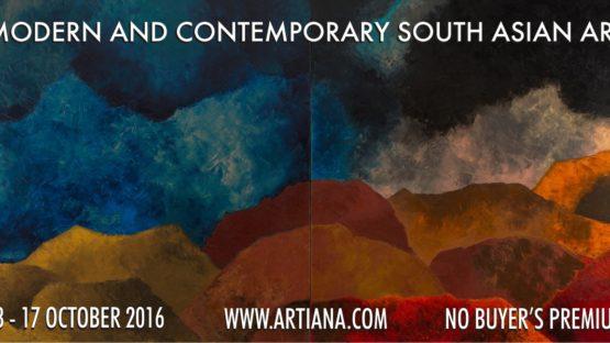 Modern & Contemporary South Asian Art, 10/13-
