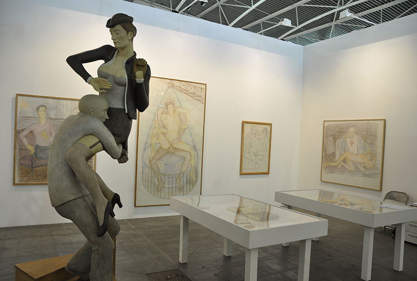 Artissima 2015 was held from November 6th to 8th at the Oval in Turin, Italy