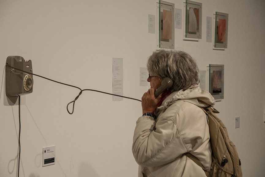 Artissima Telephone OGR 2019