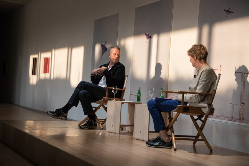 Previous Artist Talks, featuring Wolfgang Tillmans
