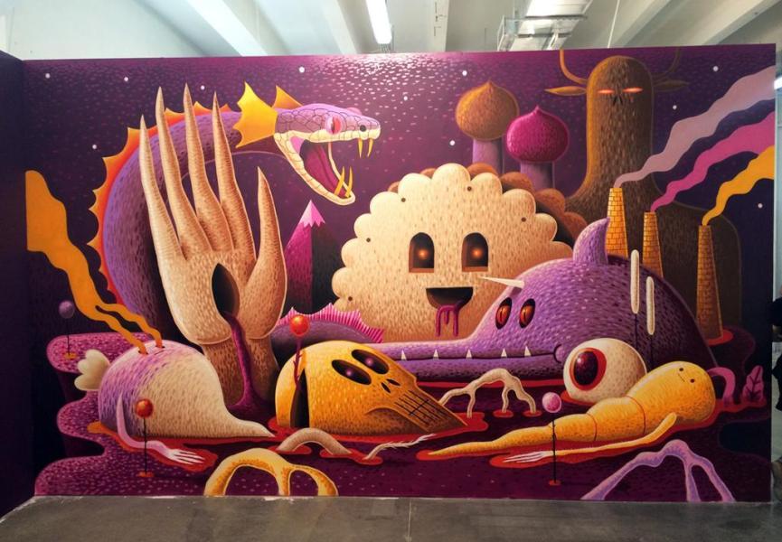 Street Art Biennale Moscow