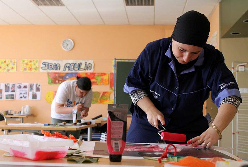 Artstic expression workshop, courtesy Spacejunk