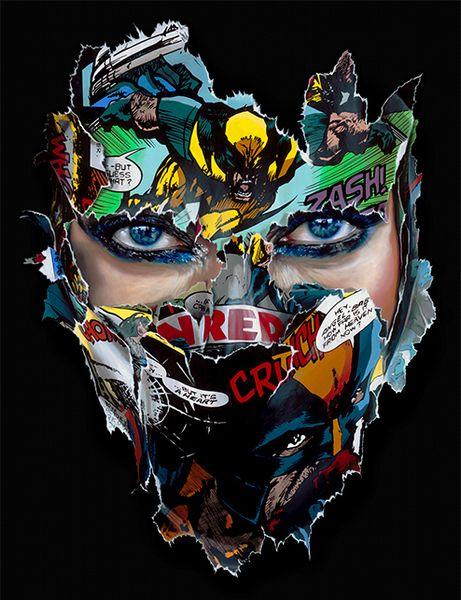 Artwork by Sandra Chevrier