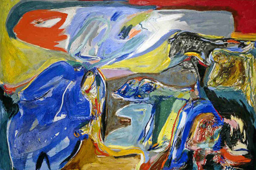 Asger Jorn - The Wind Leads us Away 1970 - Copyright Donation Jorn Silkeborg - Image via Muesumjorn dk