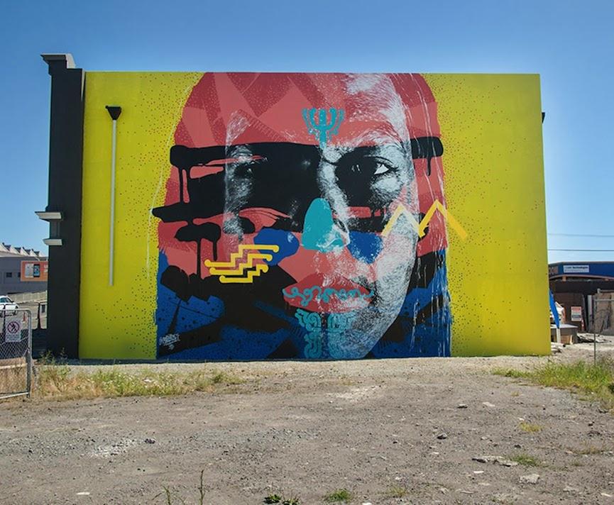 Mural in New Zealand