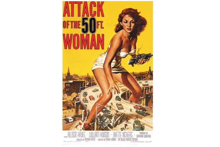 star original new print add price original Attack of the 50ft Woman
