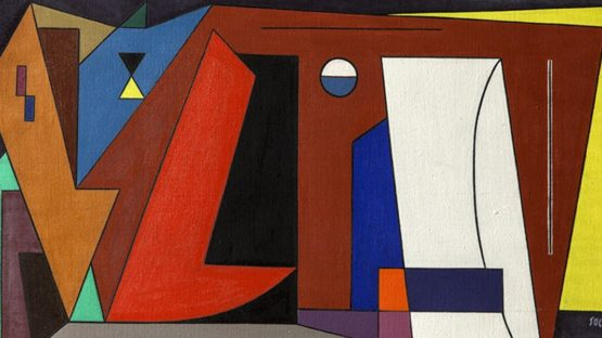 Attanasio Soldati - Composizione (detail), 1948