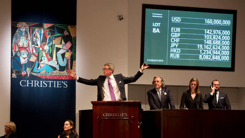 Auction at Christie's
