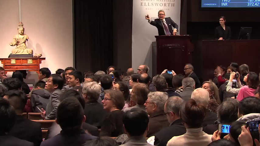 Auction at Christie's2
