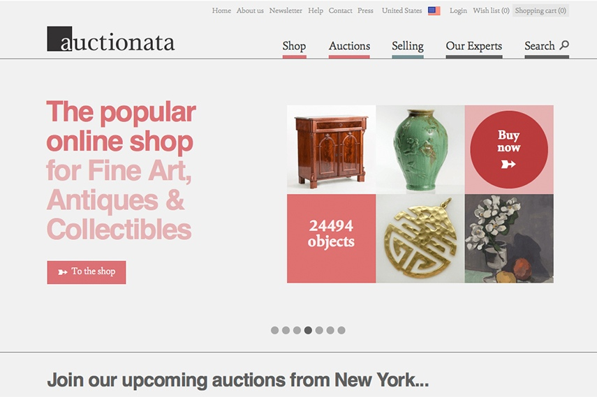 Auctionata online auction house