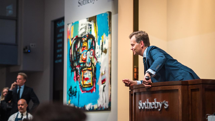 Auctioning Jean-Michel Basquiat's Untitled Painting