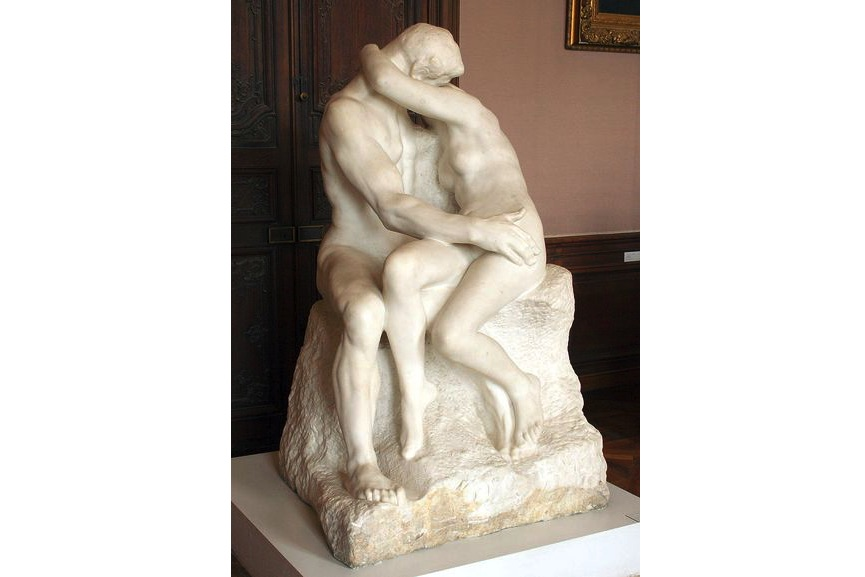 Auguste Rodin - The Kiss, 1882