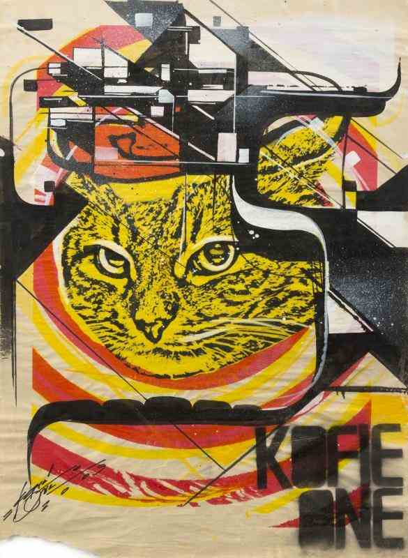 Cat Cult-Augustine Kofie-Augustine Kofie With Cat Cult - Untitled-2009