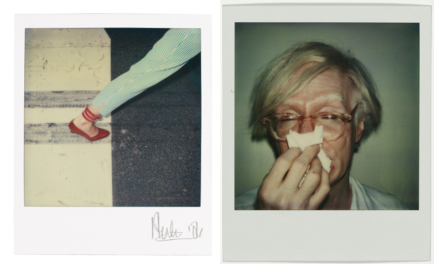 Auke Bergsma - Woman Walking, 1981 - Andy Warhol - Andy Sneezing, 1978