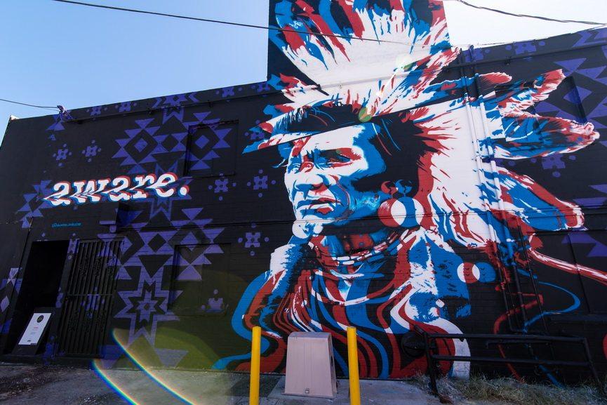 Aware mural