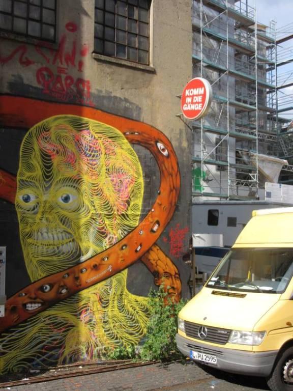 Awer - Mural in Hamburg, Germany, 2015