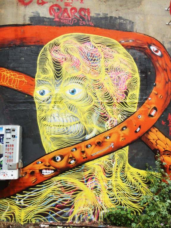 Awer - Mural in Hamburg, Germany (detail)