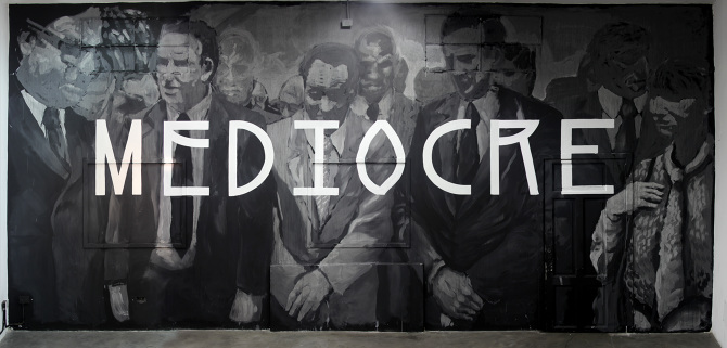 Axel Void and Jaz - Mediocre exhibition, 2013