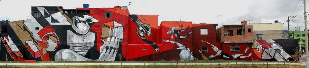 B-47 - Mural 191, Sao Paulo, 2012