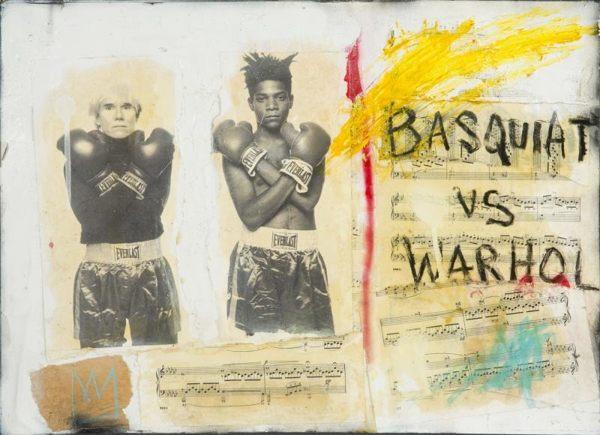 B. Benitez-Basquiat Vs Warhol-