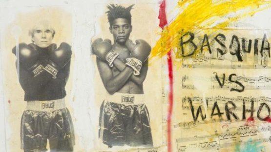 B. Benitez - Basquiat vs. Warhol (detail)