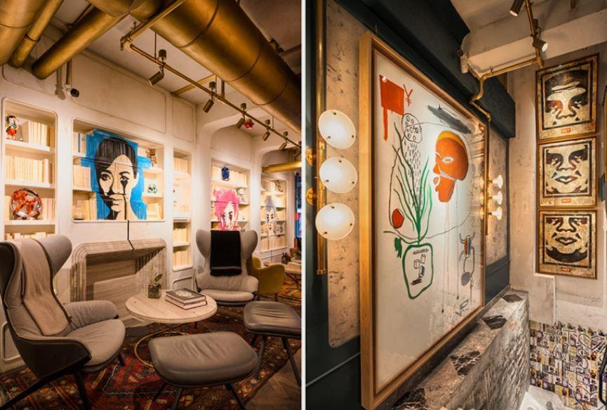 BIBO Street Art Restaurant Hong Kong