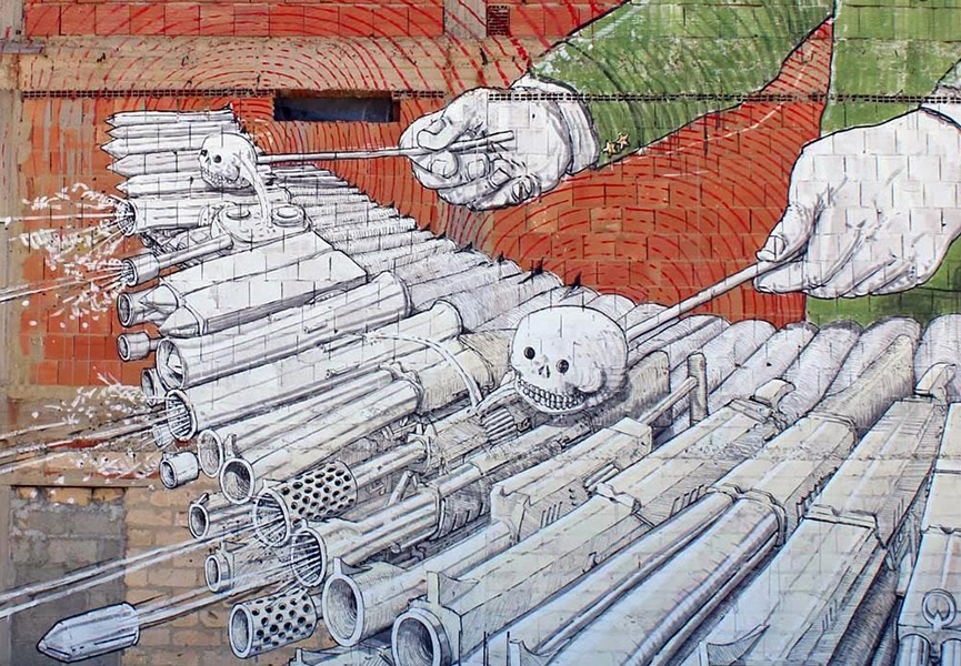 Xylophone mural