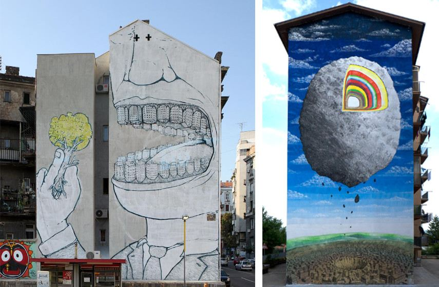 studio studio free new free new studio products sales best link shop account life learn phones service buy music shipping studio products sales best link shop account life learn phones service buy music shipping BLU - Mural, Belgrade, Serbia, 2009 (Left), Mural, Campobasso, Italy, 2015 (Right)
