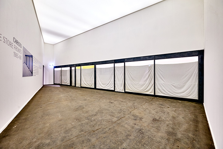 BRAFA 2018 Christo -Three Store Fronts