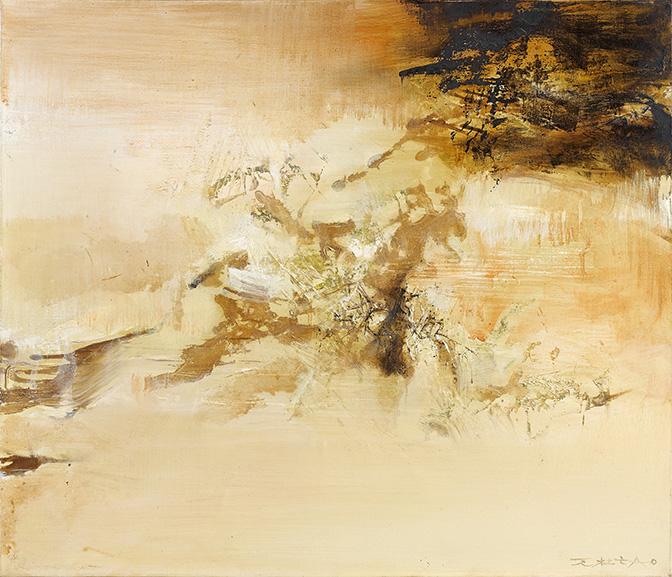 BRAFA 2020 Omer Tiroche Gallery- Zao Wou-Ki - 10.04.70