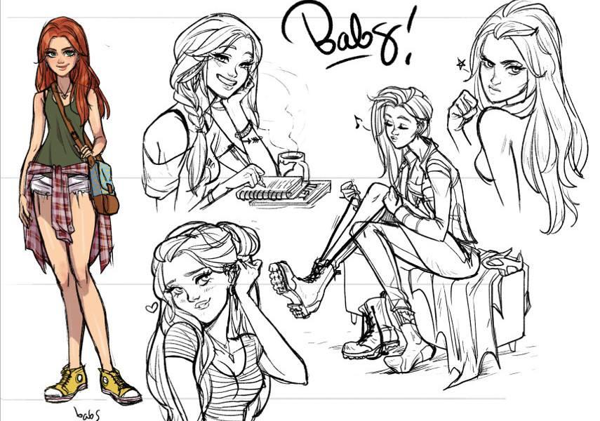 Batgirl, Character Concept - Image via fansidedcom