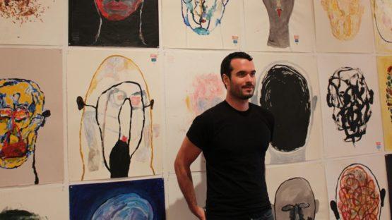 Balint Zsako, artist, photo credits - Five Senses Art