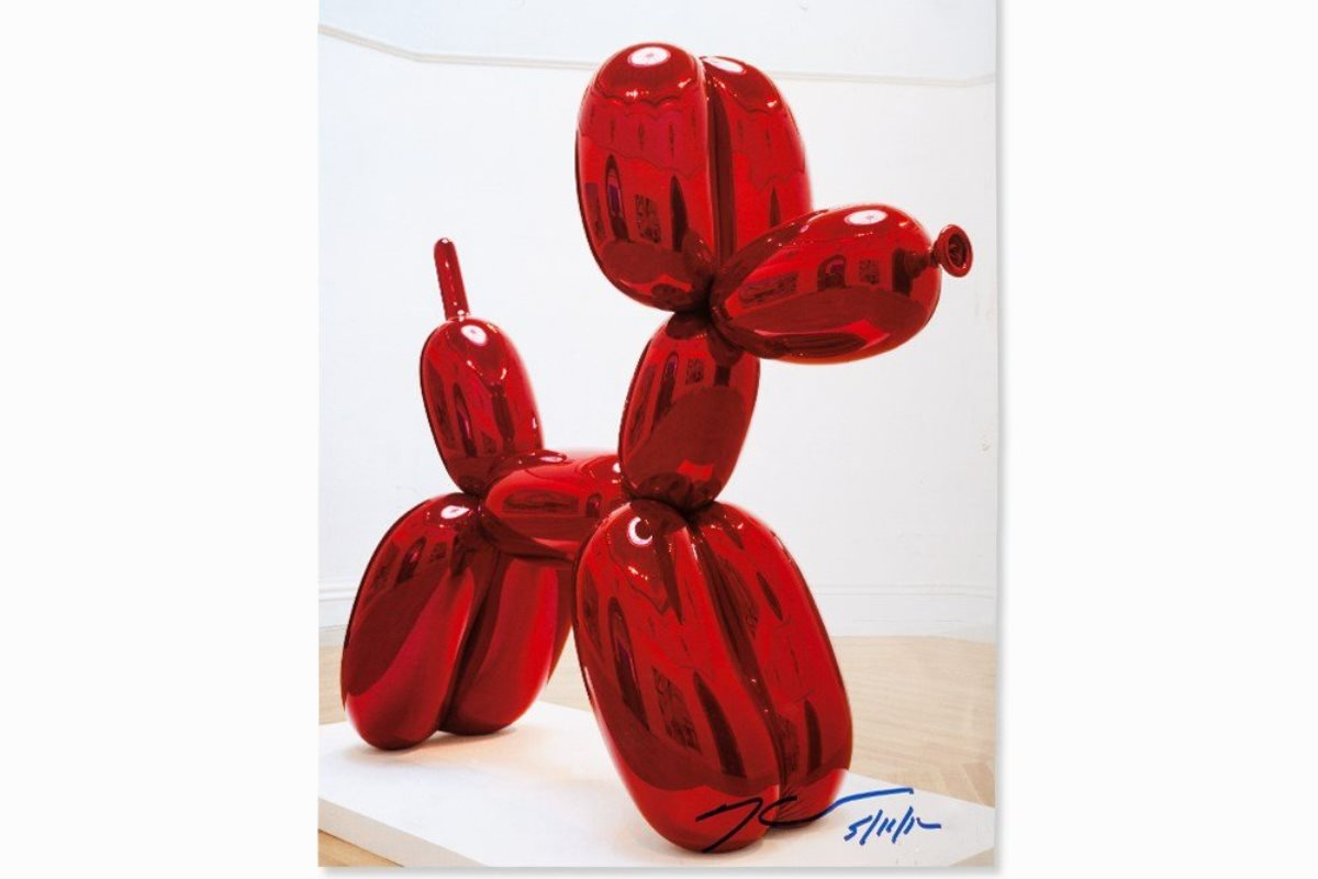 Koons Balloon Dog For Sale