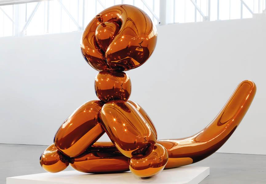 Balloon Monkey Orange, 2006 - 13