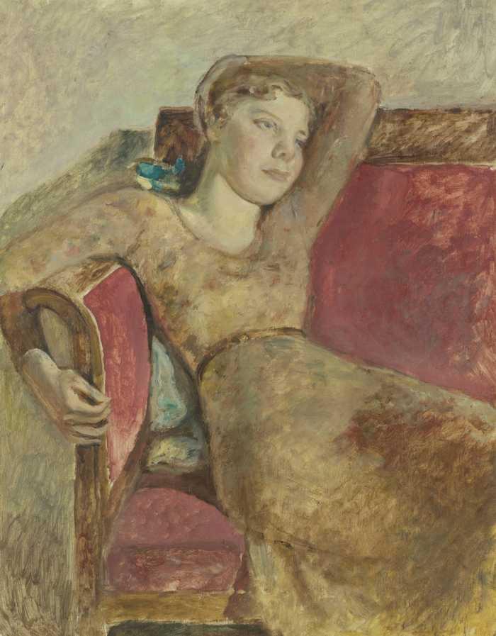 Balthus-Jeune Fille Assise (Antoinette)-1930
