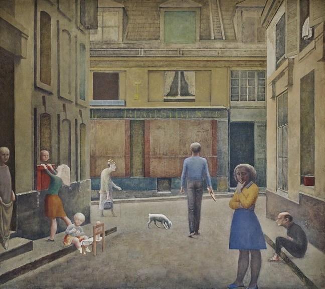 Balthus - Passage Du Commerce-Saint-André