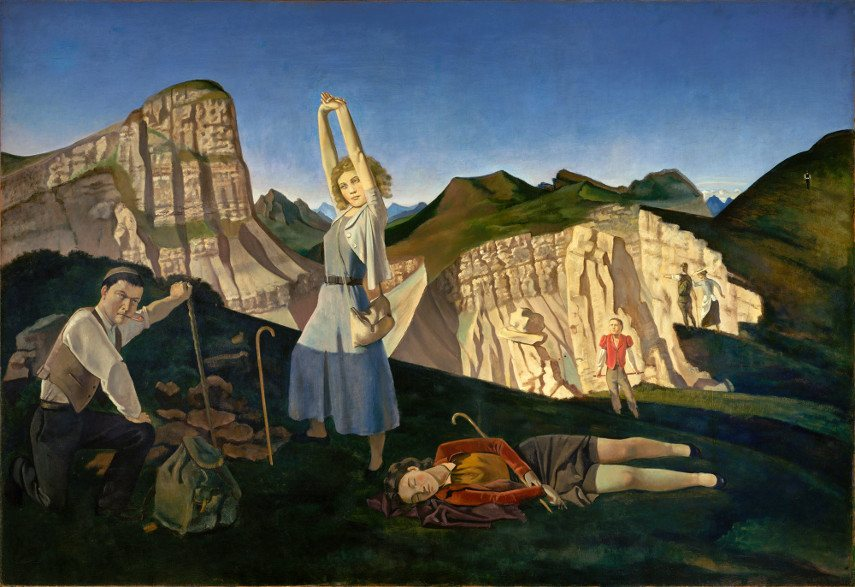 Like Balthus, Maria Rainer had a wealthy family