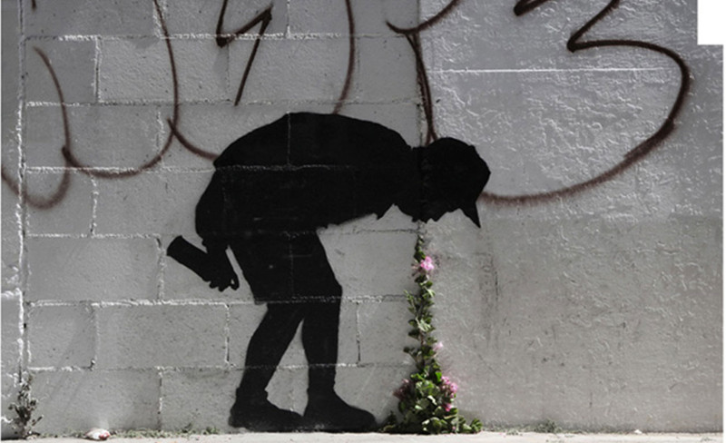 Banksy – Better Out Than In, New York City 2013 - museum shows policy 2008