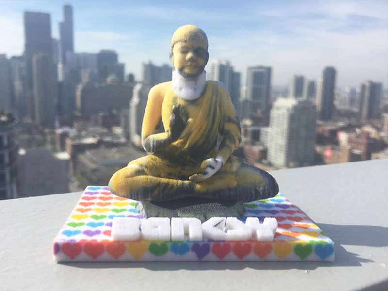 banksy 3d prints