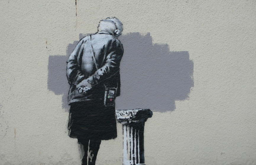 O Banksy, wherefore art thou Banksy?