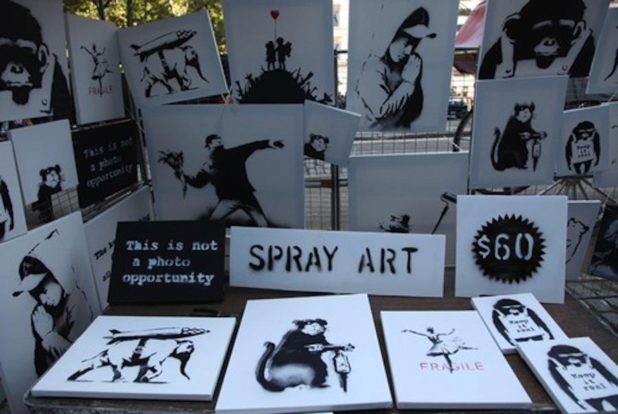 Banksy art sale