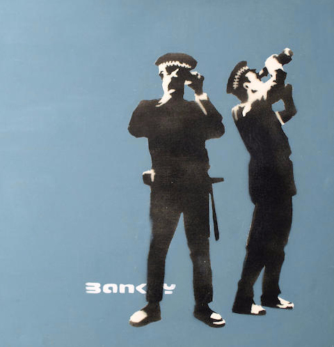 Banksy-Avon and Somerset Constabulary-2000