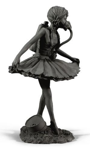 Banksy-Ballerina with Action Man Parts-2005